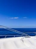 Jachtu boczny widok Zdjęcie Stock