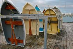 Jachtu centrum w Nowa Zelandia Zdjęcia Royalty Free