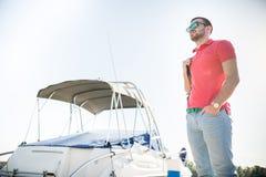 Jachtu klub Zdjęcie Stock