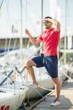 Jachtu klub Obraz Royalty Free