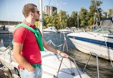 Jachtu klub Zdjęcia Royalty Free