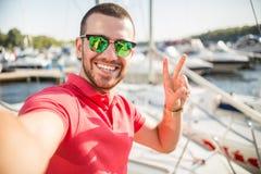 Jachtu klub Obrazy Stock