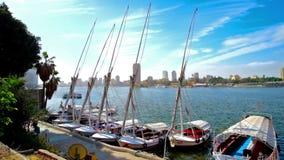 Jachtu klub w Kair zbiory wideo