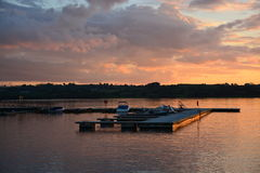 Jachtu marina Zdjęcie Royalty Free