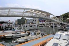 Jachtu marina w gushan promu molu Fotografia Stock