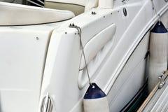 Jachtu pławik i ciało Zdjęcie Stock