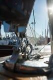 Jachtu pokład Zdjęcia Stock