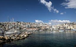 Jachtu port w Athens Obraz Royalty Free