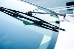 Jachtu przedniej szyby wiper zdjęcia stock