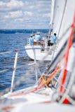 Jachtu regatta Fotografia Royalty Free