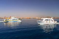 Jachtu rejs na Czerwonym morzu obrazy royalty free