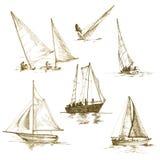 jachty ilustracja wektor