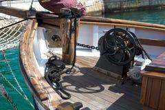 Jachty blisko brzeg w porcie miasto Alicante Fotografia Royalty Free