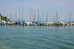 Jachty i łodzie Obrazy Stock