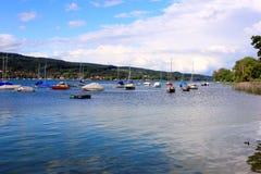 Jachty na jeziornym constance Zdjęcia Stock