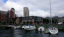 Jachty, łodzie Fotografia Royalty Free