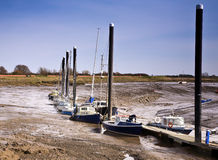 Jachty przy odpoczynkiem Fotografia Royalty Free