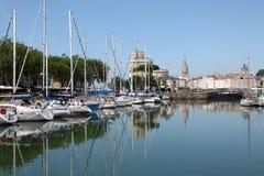 Jachty w marina La Rochelle Zdjęcie Royalty Free