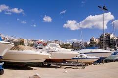 Jachty w porcie Zdjęcie Stock