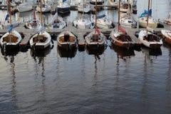 Jachty w Tallinn Obraz Stock