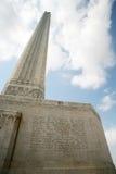 jacinto monument san Arkivfoto