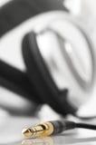 jack наушников Стоковые Изображения RF