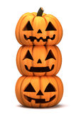 Jack 0 Lanterns Royalty Free Stock Photo