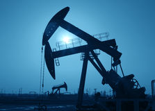 Αντλία Jack πετρελαίου Στοκ Εικόνες