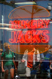 Jack affamato Fotografia Stock