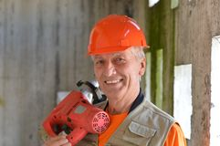 Jack of all trades with a tool Stock Images