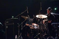 Jack Baker, Bonobo Band's drummer Stock Image