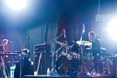 Jack Baker, Bonobo Band's drummer Royalty Free Stock Image