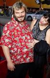 Jack Black and Tanya Haden Stock Photography
