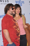Jack Black & Tanya Haden Stock Image