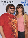 Jack Black & Tanya Haden Stock Images