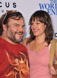 Jack Black & Tanya Haden Royalty Free Stock Photos