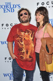 Jack Black & Tanya Haden Stock Photos
