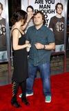 Jack Black and Tanya Haden Royalty Free Stock Photo