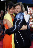 Jack Black and Tanya Haden Stock Photography