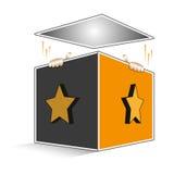 Jack In The Box Imágenes de archivo libres de regalías