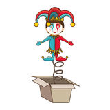 Jack in the box icon image Stock Images