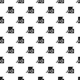 Jack in the box toy pattern, simple style Stock Images
