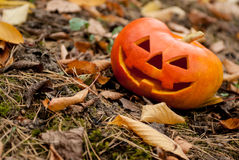 Jack-cabeza de Halloween Foto de archivo libre de regalías