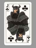 Jack of clubs playing card Royalty Free Stock Photos