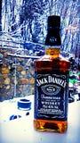 Jack Daniel Imágenes de archivo libres de regalías