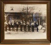 Jack Daniel& x27; s muzeum Obrazy Stock