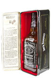 Jack Daniels. Old Time, Tennessee sour mash Whiskey, Special edition in tin case Royalty Free Stock Photo