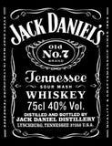 Jack Daniels Στοκ εικόνα με δικαίωμα ελεύθερης χρήσης