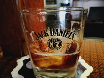 Jack Daniels Fotografie Stock Libere da Diritti