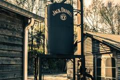 Jack Daniels destylarnia Obrazy Royalty Free